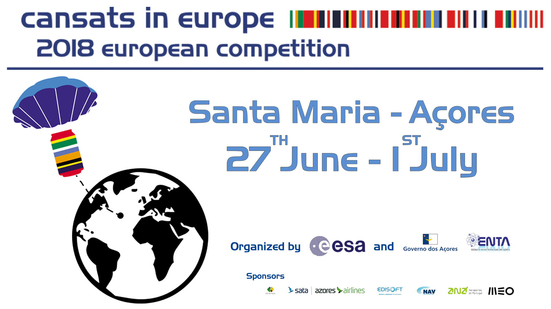 And the 2018 European CANSAT Competition finalists are….