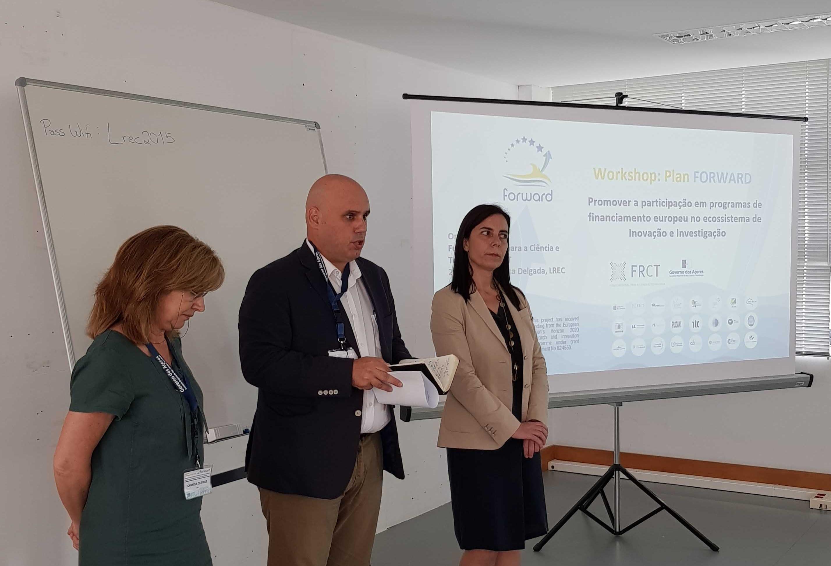 Projeto FORWARD permite consolidar presença dos Açores em projetos internacionais de inovação e investigação