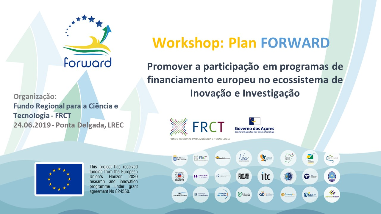 Governo Regional promove workshop para participação dos Açores em programas de financiamento europeu no Horizonte 2020