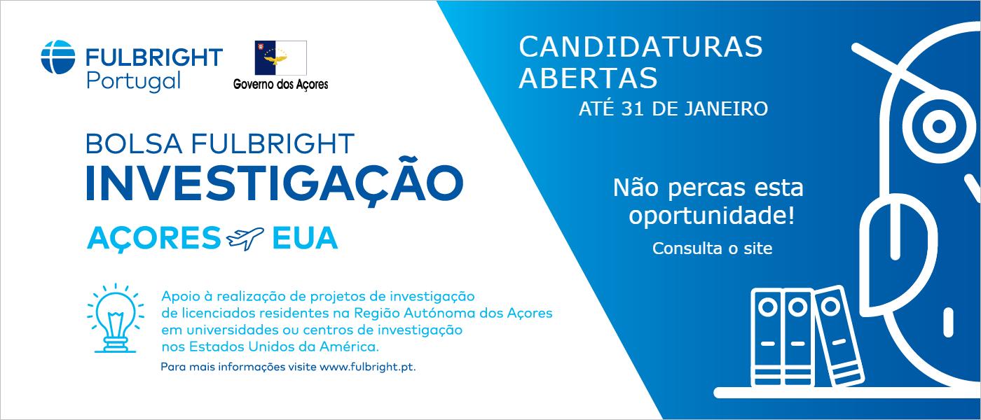 Governo dos Açores atribui três bolsas de investigação nos EUA em cooperação com Comissão Fulbright