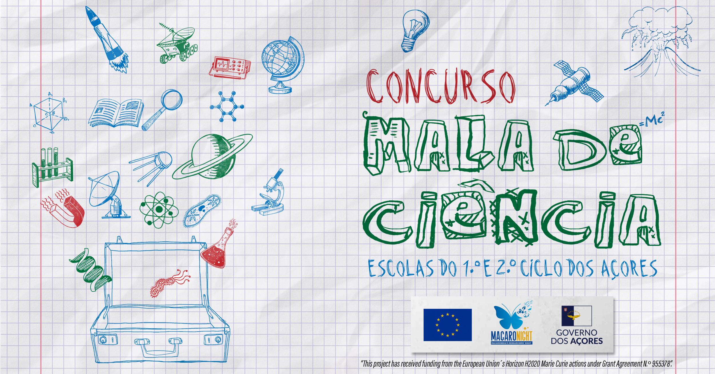 """Governo dos Açores promove concurso """"Mala de Ciência"""", para alunos do 1.º e do 2.º ciclo, no âmbito da Noite dos Investigadores"""
