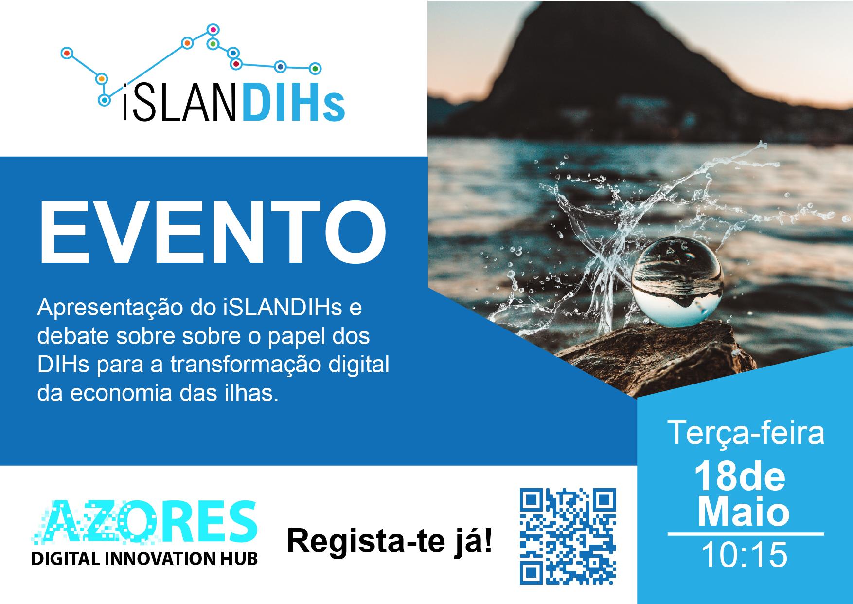 Evento de apresentação do iSLANDIHs