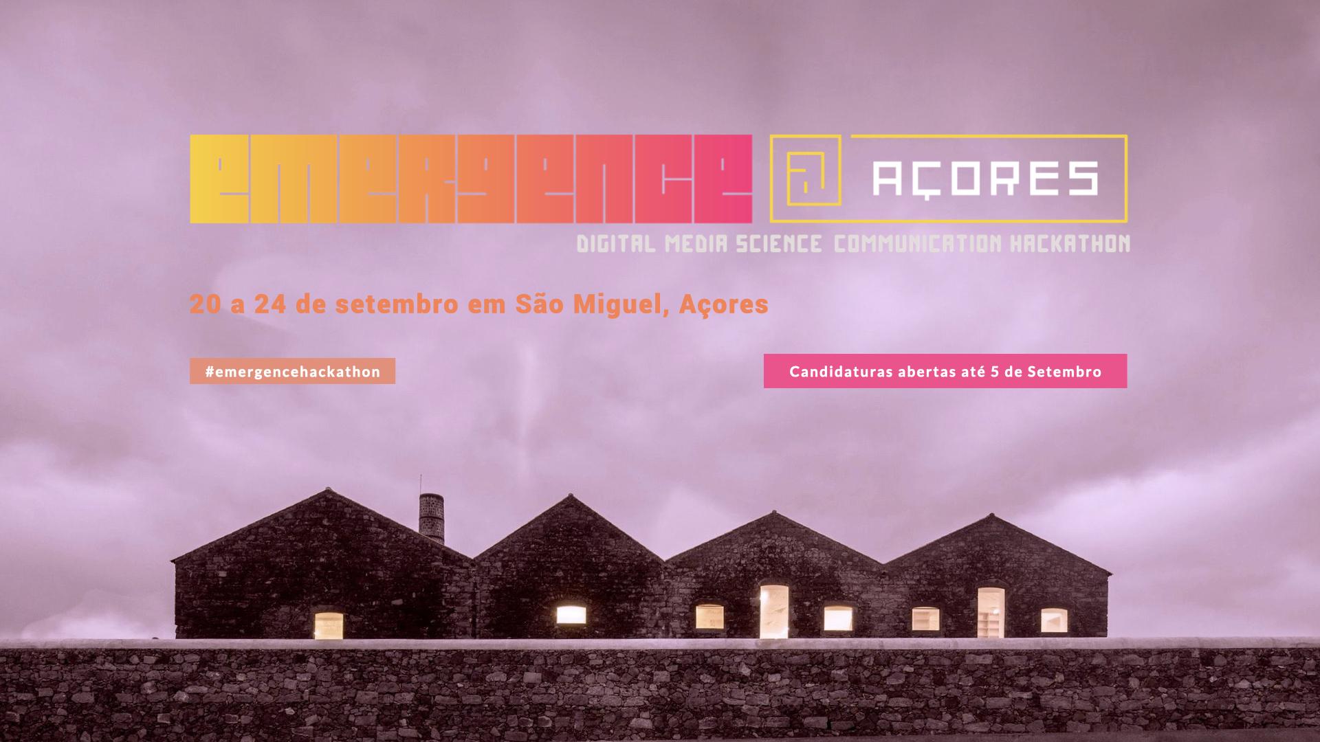 Governo dos Açores apresenta a 2ªEdição do evento EMERGENCE @Açores- Ciência e Criatividade
